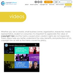 Copyright Videos - Copyright Alliance Videos by Creators