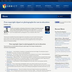 Free copyright clipart or photographs for use in education - 123ICT 123ICT