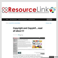 Copyright and Copyleft…read all about it!