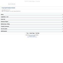 Copyright Subject Guide - RMIT LibGuides - Mobile