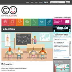 Copyright User – Education