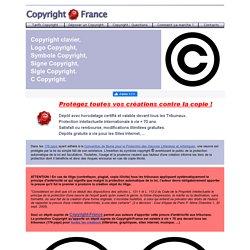 COPYRIGHT©clavier,Logo COPYRIGHT,symbole COPYRIGHT
