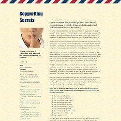 Comment écrire une publicité qui vend ! 10 formules éprouvées pour écrire des textes révolutionnaires qui pulvérisent vos records de ventes