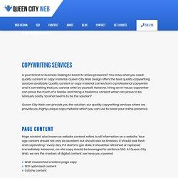 Copywriting Services Company- Queen City Web Design