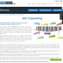 Seo Copywriting Services India