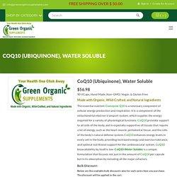 Get Organic Non GMO Supplements Online