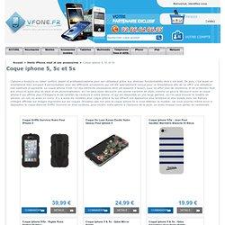 Coque iPhone 5 - Soigner votre iPhone 5s & 5c grâce à VFone