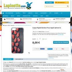 Coque Rigide Pour Apple Iphone 5c Motif Bonbon Coeur