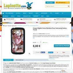 Coque Rigide Pour Samsung Galaxy Trend Motif Coeur Amour