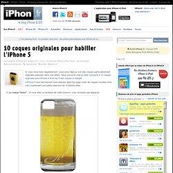 10 coques originales pour habiller l'iPhone 5 - iPhone 5, 4S