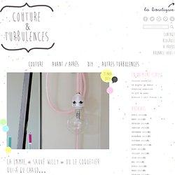 "La lampe-coquetier ""Sauvé Willy"" - Couture&Turbulences"