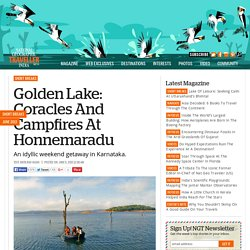 Golden Lake: Coracles And Campfires At Honnemaradu