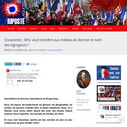 Coraneries : BHL veut interdire aux médias de donner le nom des égorgeurs !