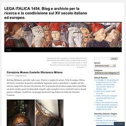 LEGA ITALICA 1454. Blog e archivio per la ricerca e la condivisione sul XV secolo italiano ed europeo.