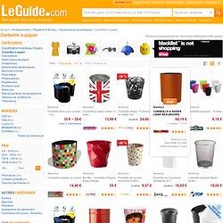 Corbeille à papier comparer les prix avec LeGuide.com