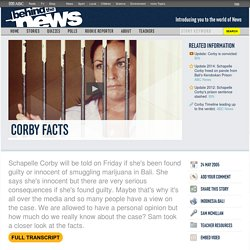 Corby Facts: 24/05/2005, Behind the News