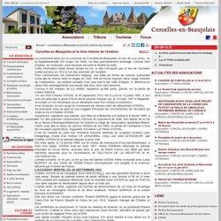 Corcelles-en-Beaujolais et la riche histoire de l'aviation - Corcelles-en-Beaujolais - Site officiel de la commune