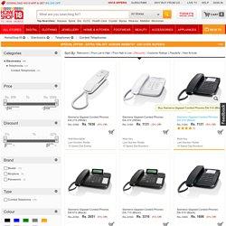 Corded Telephones: Buy Corded Telephones Online in India - Homeshop18