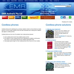 Cordless Phones/EMR Australia