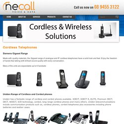 Cordless Telephones – Cordless Phone Systems Perth