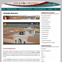 Córdoba Romana – ARQUEOCÓRDOBA