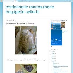 cordonnerie maroquinerie bagagerie sellerie: Les parapluies, problèmes et réparations.