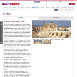 Cordova Travel Tips from Rail Europe