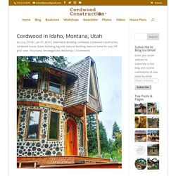 Cordwood in Idaho, Montana, Utah