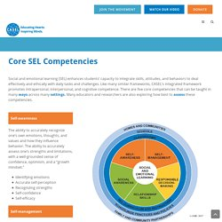 Core SEL Competencies