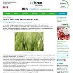 INFOGM 04/08/16 Corée du Sud – Du blé GM détecté juste à temps