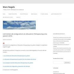 L'entretien de corégulation en éducation thérapeutique du patient (4/5)