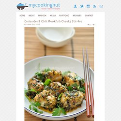 Coriander & Chili Monkfish Cheeks Stir-Fry