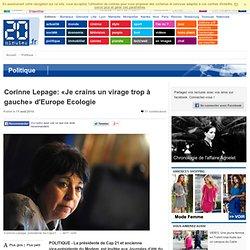 Corinne Lepage: «Je crains un virage trop à gauche» d'Europe Ecologie