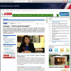 """Corinne Lepage assure être """"le seul vote utile de l'écologie"""" (interview)"""