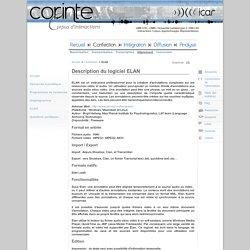 CORINTE - Alignement - ELAN