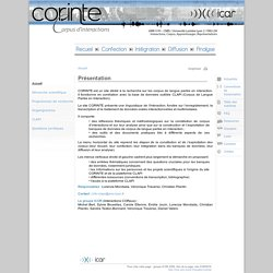 CORINTE - Page d'accueil