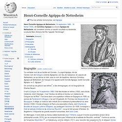 Henri-Corneille Agrippa de Nettesheim