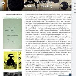cornelius cardew's treatise (1963-67) – The Hum Blog