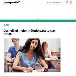 Cornell: el mejor método para tomar notas
