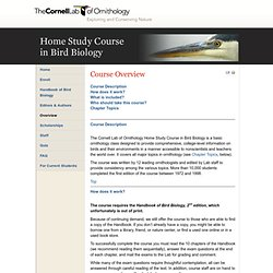 Lab of Ornithology: Home Study Course