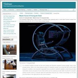 Corner V1 Computer Desk: Master Corner V1 Computer Desk – Vizimac