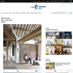 Park Corner Barn / McLaren Excell