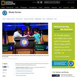 Study Corner - National Geographic Bee