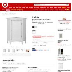 Slone Corner 1 Door Shuttered Floor Cabinet