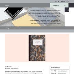 Sturtevant - Cornerhouse Publications
