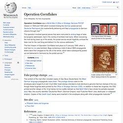 Operation Cornflakes