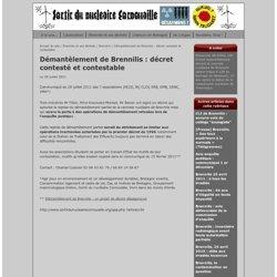 .: Sortir du nucléaire Cornouaille - Nukleel Nann Trugarez!:. : Démantèlement de Brennilis: décret contesté et contestable