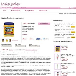 cornstarch reviews