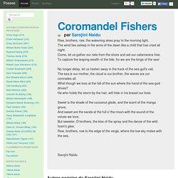 Coromandel Fishers Essay