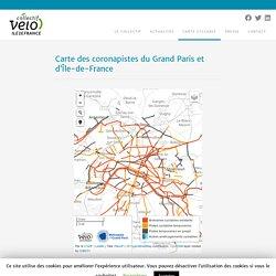 Carte des coronapistes du Grand Paris et d'Île-de-France – Collectif Vélo Île-de-France